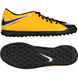 Zapatillas de fútbol Nike HypervenomX Phade Iii Tf M 852545-801 negro amarillo negro
