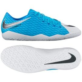 Zapatos de interior Nike HypervenomX Phelon III IC M 852563-104 azul