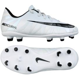 Calzado de fútbol Nike Mercurial Vortex Iii CR7 Fg Jr. 852494-401 blanco