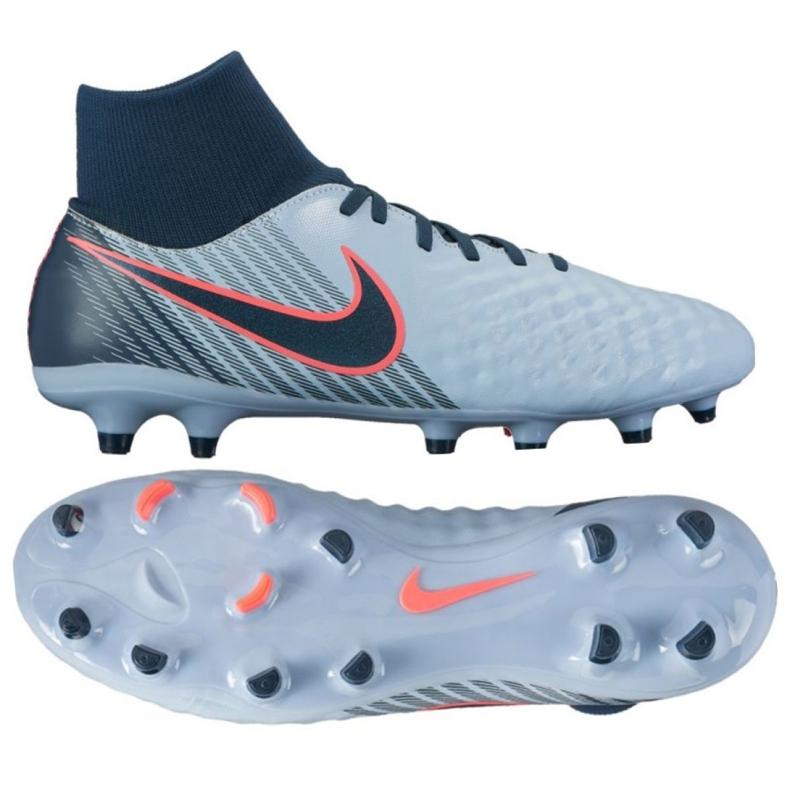 Zapatillas de fútbol Nike Magista Onda Ii Df Fg M 917787-400 azul azul