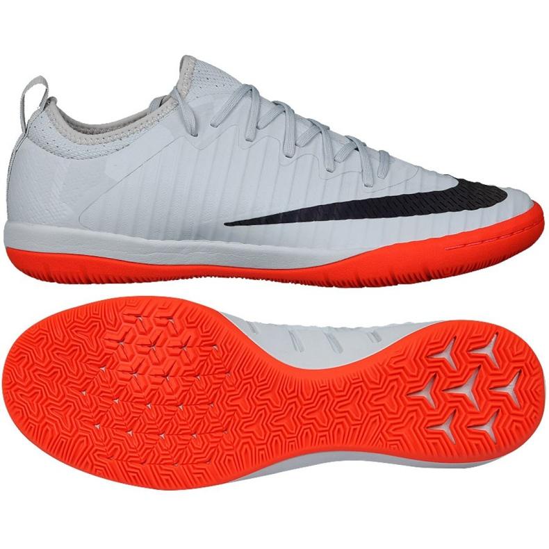 Zapatillas de interior Nike MercurialX Finale II gris negro