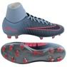 Zapatillas de fútbol Nike MercurialX Victory azul