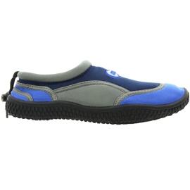 Zapatillas de playa de neopreno Aqua-Speed Jr. azul marino