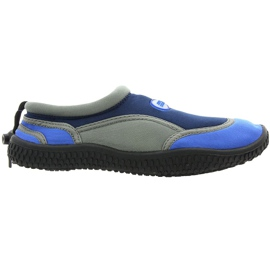 Zapatillas de playa de neopreno Aqua-Speed Jr. azul marino