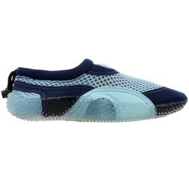 Zapatillas de playa de neopreno Aqua-Speed Jr azul