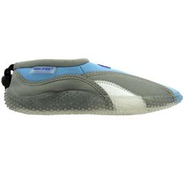Aqua-Speed Jr. Neopreno playa zapatos gris