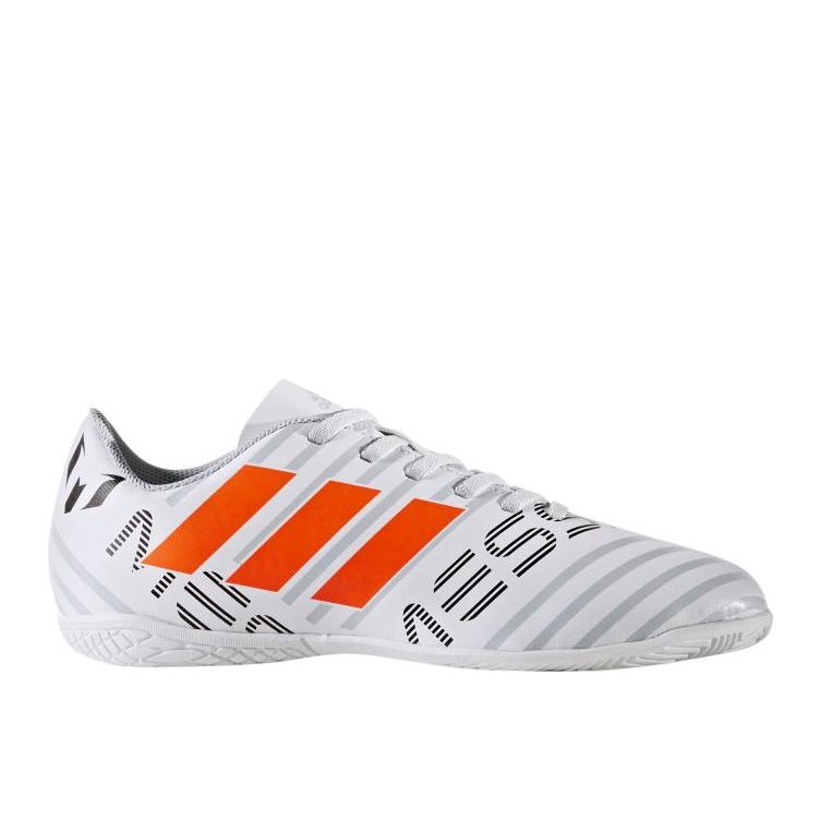 Zapatos de interior adidas Nemeziz Messi 17.4 blanco