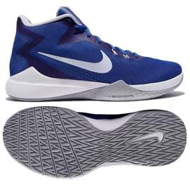 Zapatillas de baloncesto Nike Air Precision M azul