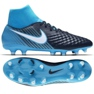 Zapatillas de fútbol Nike Magista Onda Ii Df Fg M 917787-414 azul negro azul