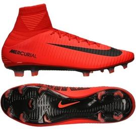 Calzado de fútbol Nike Mercurial Veloce Iii rojo