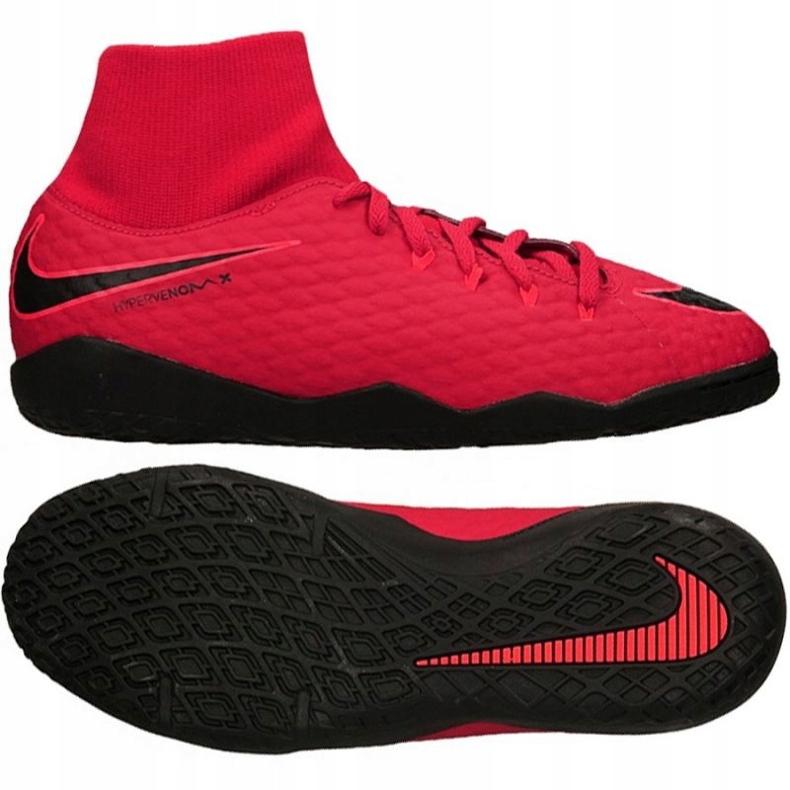 Zapatos de interior Nike HypervenomX Phelon rojo