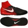 Zapatillas de fútbol Nike Magistax Onda Ii Df Tf M 917796-061 negro negro rojo