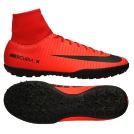Calzado de fútbol Nike MercurialX Victory Vi Df Tf M 903614-616 rojo rojo