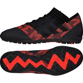Botas de fútbol Adidas Nemeziz Tango 17.3 Tf M CP9098 negro, dorado, rojo negro