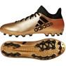 Zapatillas de fútbol adidas X 17.3 Ag M CP9233 dorado negro oro