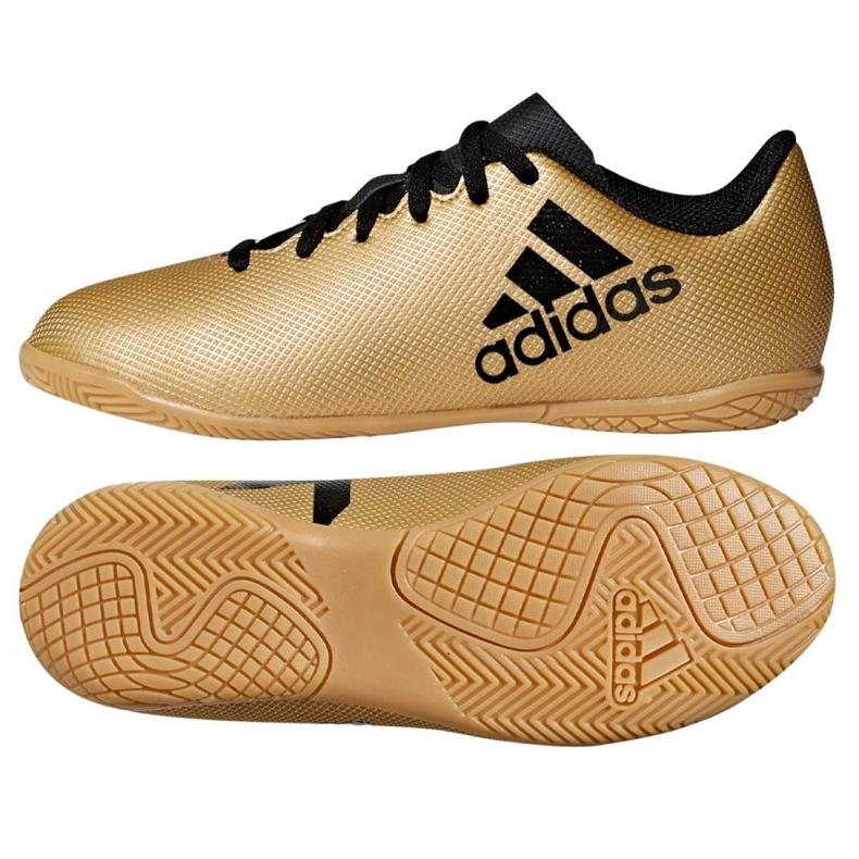Adidas X Tango 17.4 In Jr CP9052 Zapatillas de interior oro