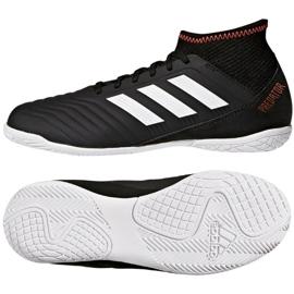 Zapatos de interior adidas Predator Tango 18.3 In Jr CP9076 negro