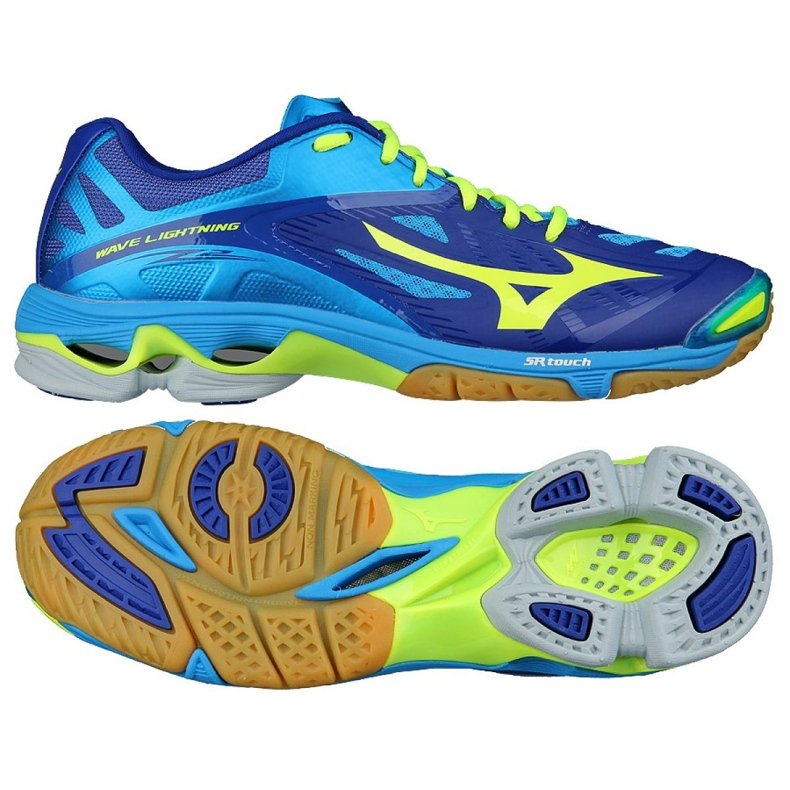 Zapatillas de voleibol Mizuno Wave Lightening Z2 M V1GA160043 azul azul