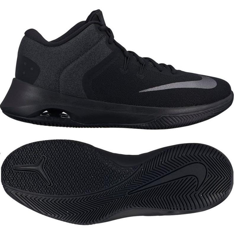 Zapatillas de baloncesto Nike Air Versitile Ii negro