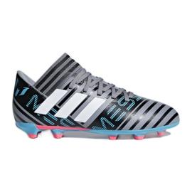 Botas de fútbol adidas Nemeziz Messi 17.3 Fg Jr CP9174 negro gris / plata