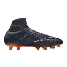 Zapatillas de fútbol Nike Hypervenom Phantom 3 Elite Df Fg M AH7270-081 gris / plata gris