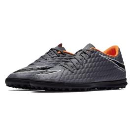 Zapatillas de fútbol Nike Hypervenom PhantomX 3 Club Tf M AH7281-081 gris / plata gris