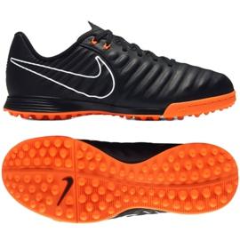 Zapatillas de fútbol Nike LegendX Academy Tf Jr AH7259-080 negro negro