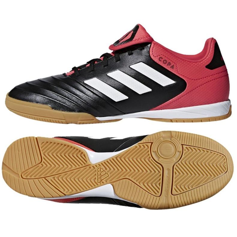 Zapatos de interior adidas Copa Tango 18.3 In M CP9017 negro negro rojo