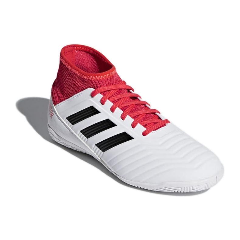 Zapatillas de interior Adidas Predator Tango 18.3 en Jr CP9073 blanco rojo blanco