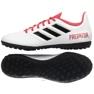 Botas de fútbol adidas Predator Tango 18.4 Tf M CP9932 blanco rojo blanco