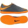 Zapatos de interior Nike Hypervenom PhantomX Iii Club Ic M AH7280-081 gris naranja, gris / plateado