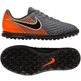 Zapatillas de fútbol Nike Magista ObraX 2 Club TF Jr AH7317-080 gris