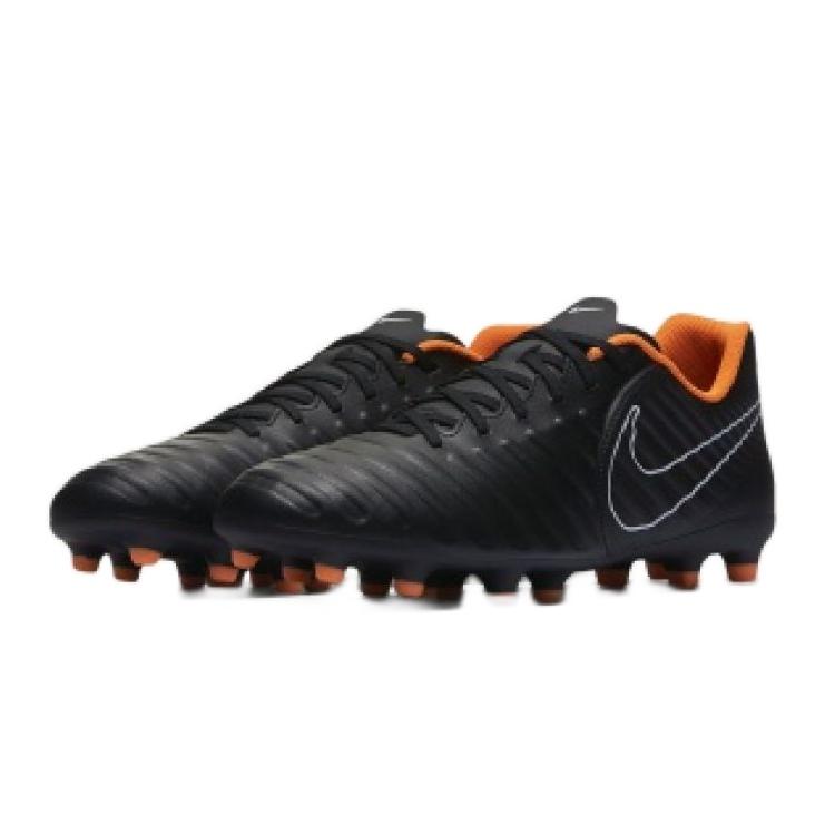 Zapatillas de fútbol Nike Tiempo Legend 7 Club FG M AH7251-080 negro