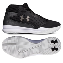 Zapatillas de baloncesto Under Armour Jet Mid M 3020224-001 negro negro