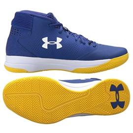 Zapatillas de baloncesto Under Armour Jet Mid M 3020224-500 azul azul