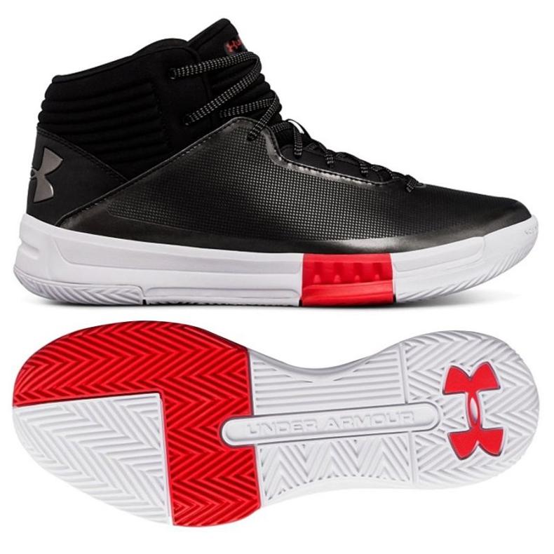 Zapatillas de baloncesto Under Armour Lockdown 2 negro