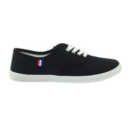 American Club zapatillas negras zapatillas de mujer negro