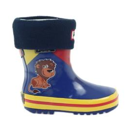 American Club Botas de goma americanas niños calcetín plantilla