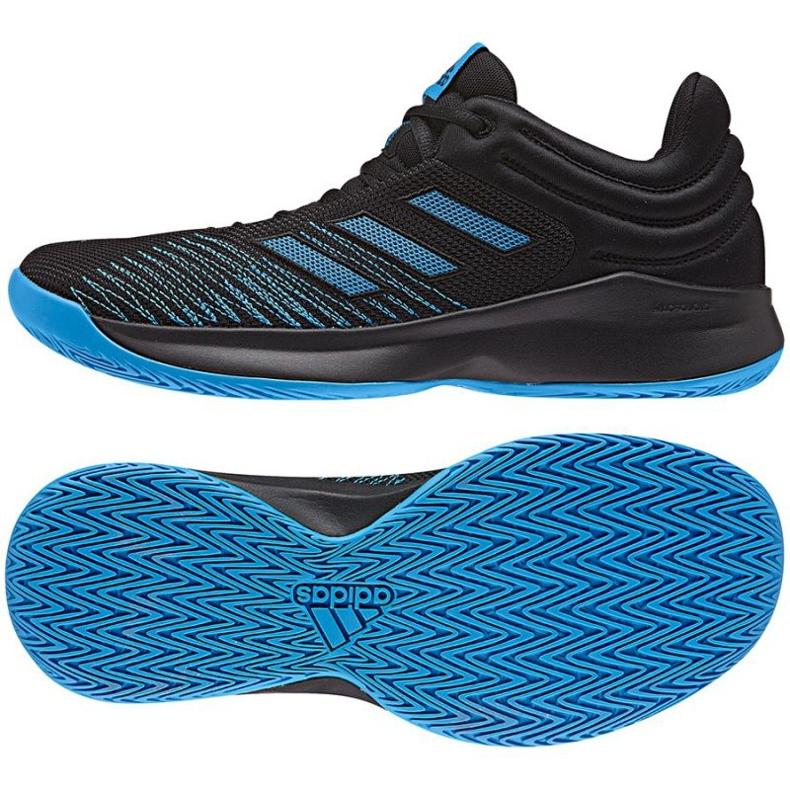 Zapatillas de baloncesto adidas PRO Spark Low 2018 M AC8518 negro
