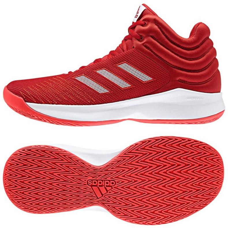 Zapatillas de baloncesto adidas Pro Sprak 2018 M rojo