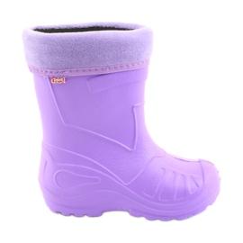 Calzado infantil de befado kalosz-fiolet 162X102 púrpura