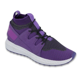 Púrpura Calzado infantil befado hasta 23 cm 516Y031.