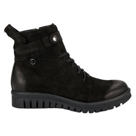 Botas negras de obreros VINCEZA negro