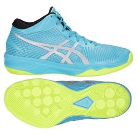 Zapatillas de voleibol Asics Gel-Volley Elite Ff Mt M B750N-400 azul multicolor