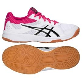 Zapatillas de voleibol Asics Upcourt 3 W 1072A012-101 blanco multicolor