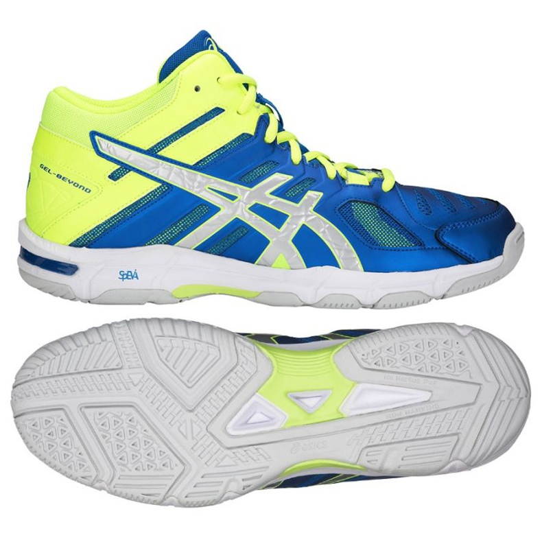 Zapatillas de voleibol Asics Gel Beyond 5 Mt M B600N-400 azul multicolor