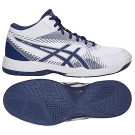 Zapatillas de voleibol Asics Gel Task M B703Y-100 blanco blanco