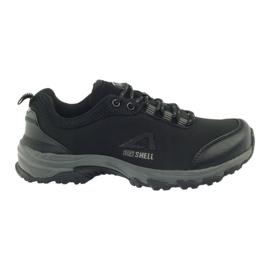 American Club Calzado deportivo americano para mujer impermeable softband 1802 negro
