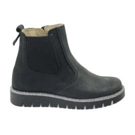 Botas de chicas Ren But 4389 negras negro