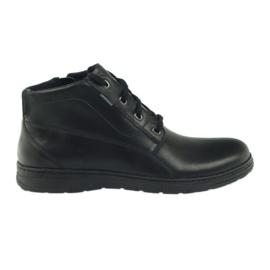 Botas botas de invierno Badura 4655 negro